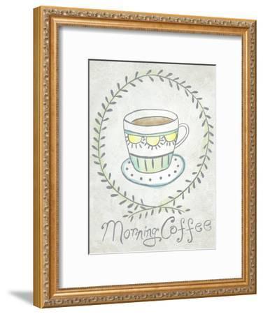 Breakfast Club I-Chariklia Zarris-Framed Art Print