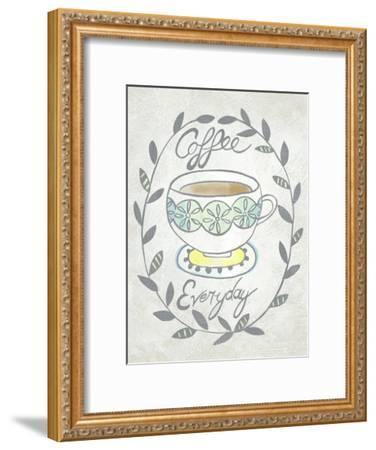 Breakfast Club II-Chariklia Zarris-Framed Art Print