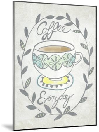Breakfast Club II-Chariklia Zarris-Mounted Art Print