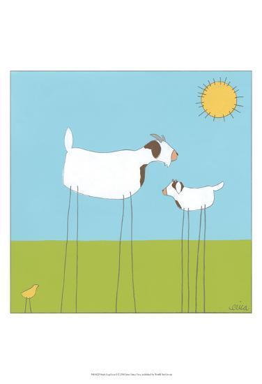 Stick-leg Goat I-June Erica Vess-Art Print