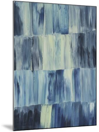 Aurora Blues I-Grace Popp-Mounted Giclee Print