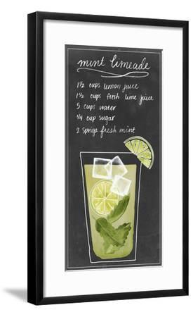 Summer Drinks IV-Grace Popp-Framed Art Print