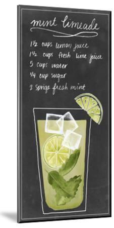 Summer Drinks IV-Grace Popp-Mounted Art Print