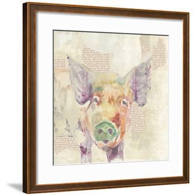 Farm Collage III-Jennifer Goldberger-Framed Art Print