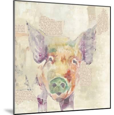 Farm Collage III-Jennifer Goldberger-Mounted Art Print