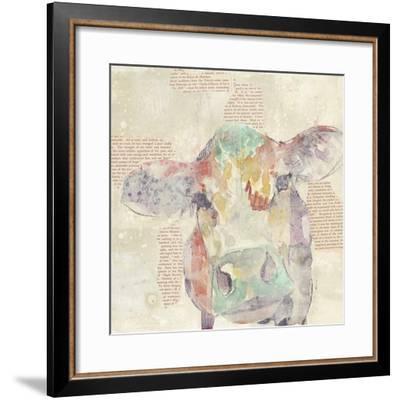 Farm Collage IV-Jennifer Goldberger-Framed Art Print