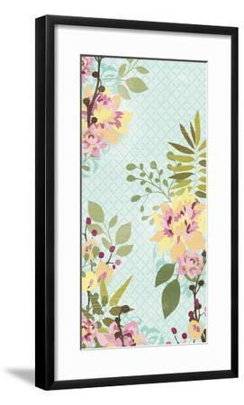 Sangria Garden I-June Erica Vess-Framed Art Print