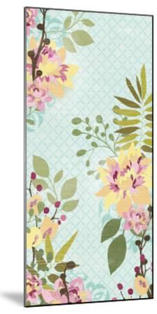 Sangria Garden I-June Erica Vess-Mounted Art Print