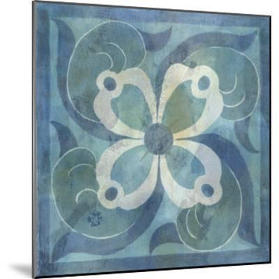 Patinaed Tile V-Naomi McCavitt-Mounted Giclee Print