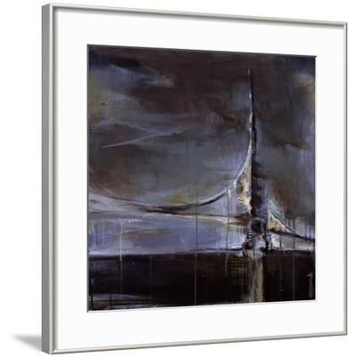 Across the Bay-Terri Burris-Framed Art Print