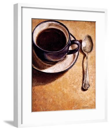 The Wait-Adolf Llovera-Framed Art Print