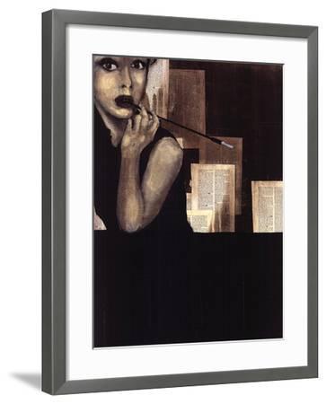 Mrs. Hollywood-Kc Haxton-Framed Art Print
