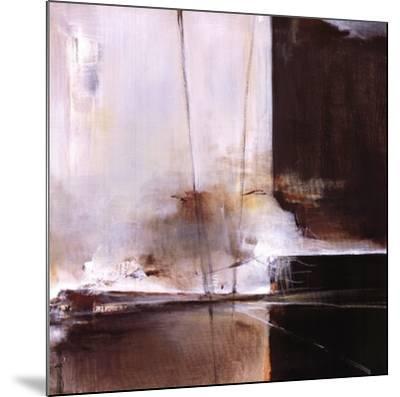 Vanishing Train-Terri Burris-Mounted Art Print