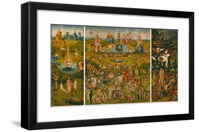 The Garden of Earthly Delights-Hieronymus Bosch-Framed Giclee Print