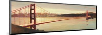 Golden Gate-Paulo Romero-Mounted Art Print