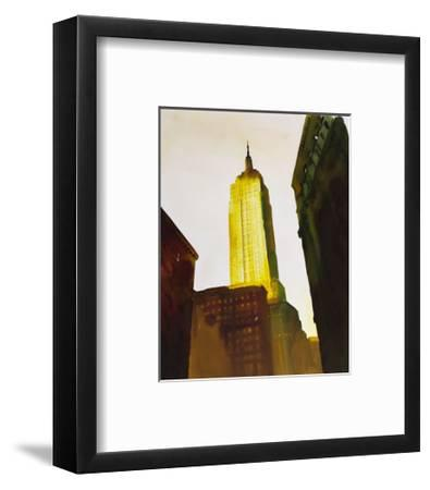 Skyscraper 1-Paulo Romero-Framed Art Print