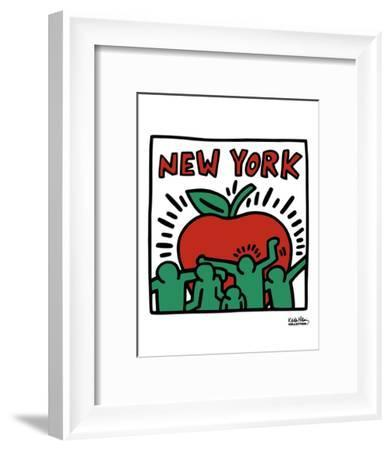 Untitled, 1989-Keith Haring-Framed Art Print