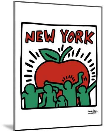Untitled, 1989-Keith Haring-Mounted Art Print