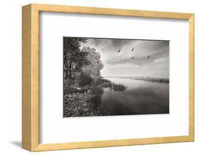 View from Big Cut Road-Steve Silverman-Framed Art Print
