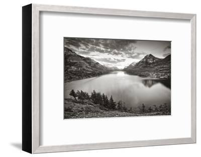 Waterton Sunset-Steve Silverman-Framed Art Print