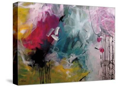 Crazy Fin-Annie Rodrigue-Stretched Canvas Print