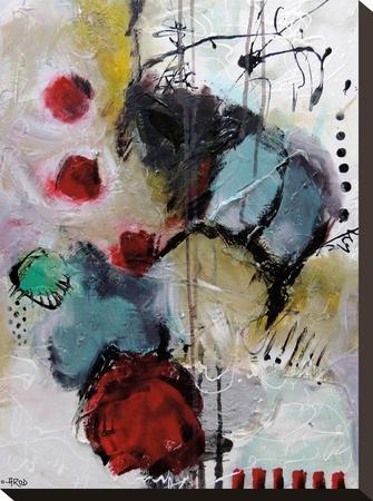 Eruptus 3381-Annie Rodrigue-Stretched Canvas Print