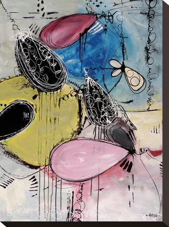 Motus 109-Annie Rodrigue-Stretched Canvas Print