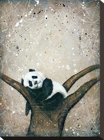 Naptime-Britt Hallowell-Stretched Canvas Print