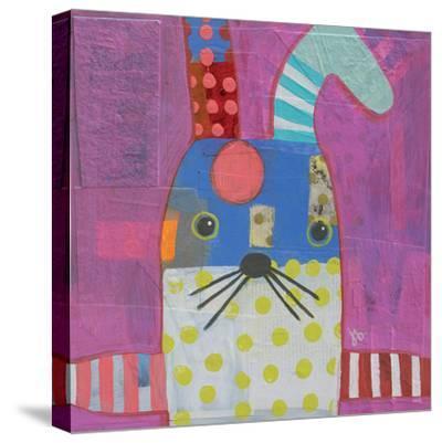 Rabbit-Julie Beyer-Stretched Canvas Print