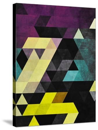 Scrytch Tyst-Spires-Stretched Canvas Print