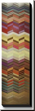 Herringbone II--Stretched Canvas Print
