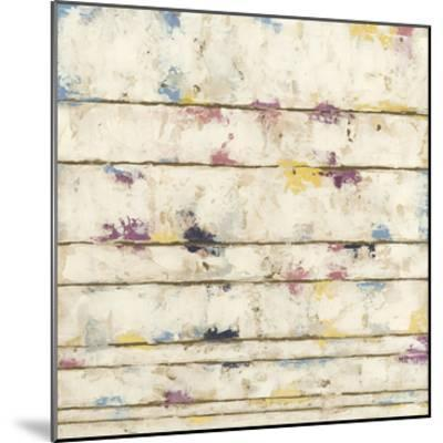 Lined Abstract II-Megan Meagher-Mounted Premium Giclee Print