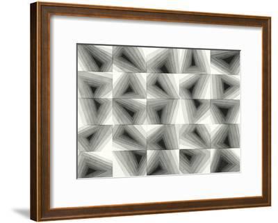Gradient Grays I-Nikki Galapon-Framed Premium Giclee Print