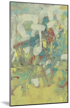 Graffiti Abstract II-Jennifer Goldberger-Mounted Premium Giclee Print