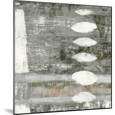 White Orbs I-Jennifer Goldberger-Mounted Premium Giclee Print