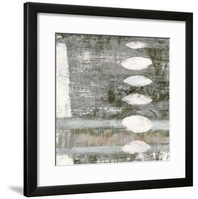 White Orbs I-Jennifer Goldberger-Framed Premium Giclee Print