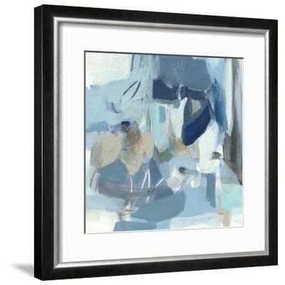 Blue Monday-Christina Long-Framed Premium Giclee Print
