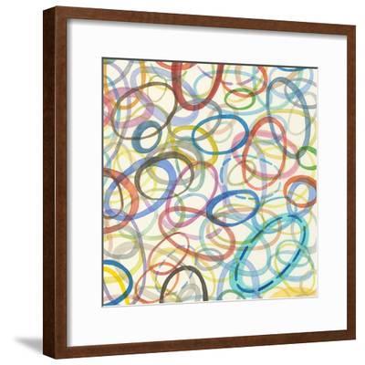 Oval Palette I-Nikki Galapon-Framed Premium Giclee Print