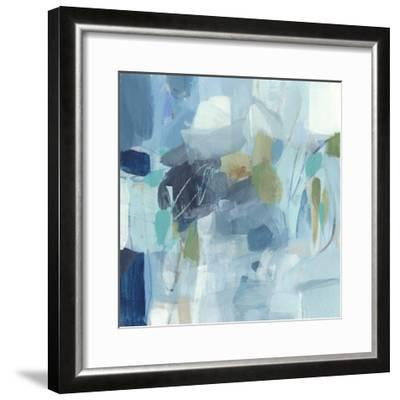 Waiting in Line-Christina Long-Framed Premium Giclee Print