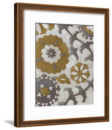 Ochre Suzani I-Chariklia Zarris-Framed Premium Giclee Print