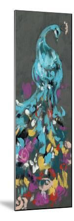 Flower Feathers I-Jennifer Goldberger-Mounted Premium Giclee Print