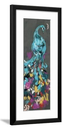 Flower Feathers I-Jennifer Goldberger-Framed Premium Giclee Print