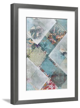 New Plaid I-Jennifer Goldberger-Framed Premium Giclee Print