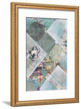 New Plaid II-Jennifer Goldberger-Framed Premium Giclee Print