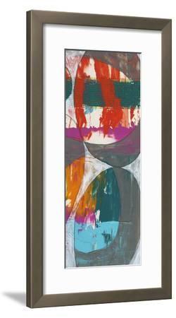 Nested Ellipse II-Jennifer Goldberger-Framed Premium Giclee Print