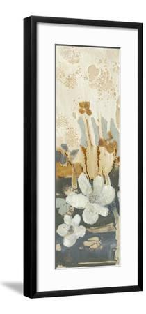 Drippy Flower Abstract I-Jennifer Goldberger-Framed Premium Giclee Print
