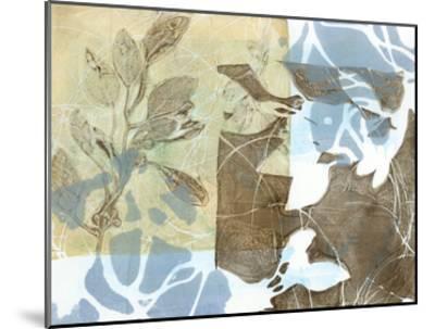 Leaf Inclusion II-Jennifer Goldberger-Mounted Premium Giclee Print