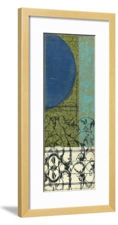 Gated Geometry III-Jennifer Goldberger-Framed Premium Giclee Print