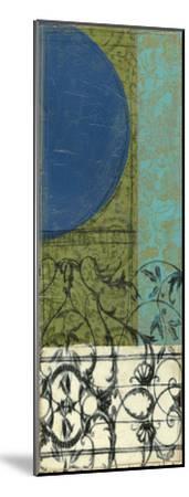 Gated Geometry III-Jennifer Goldberger-Mounted Premium Giclee Print