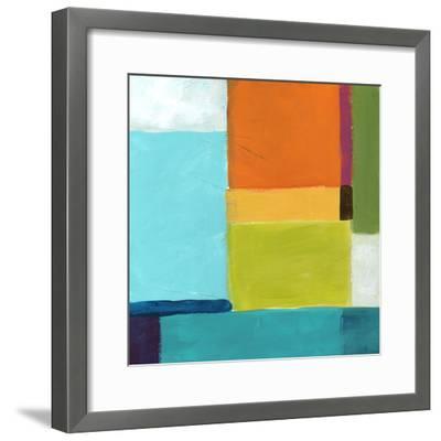 City Square III-June Vess-Framed Premium Giclee Print